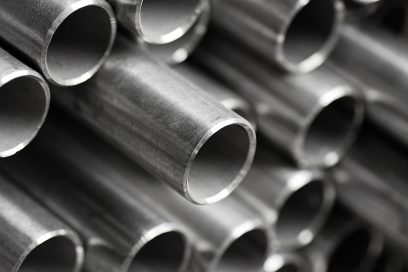 Stainless steel is protected by a layer of its own oxidisation.