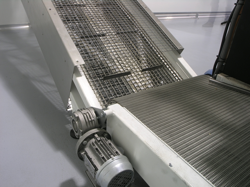 Most of Locker Group's conveyor belts are made to order so they fit the customer's exact specifications.