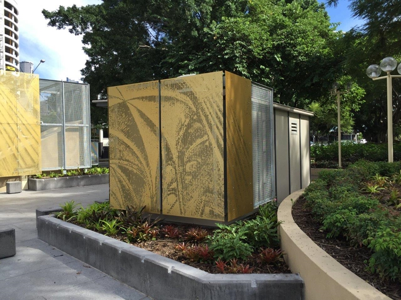 Locker Group worked closely with the council to come up with an innovative design for the square.
