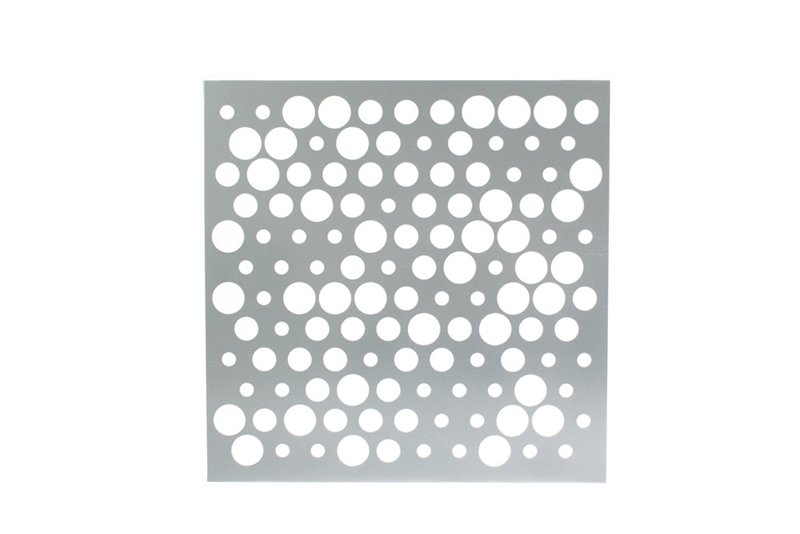 Perforated metal profile: Champagne