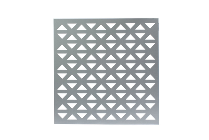 Perforated metal profile: Aztec