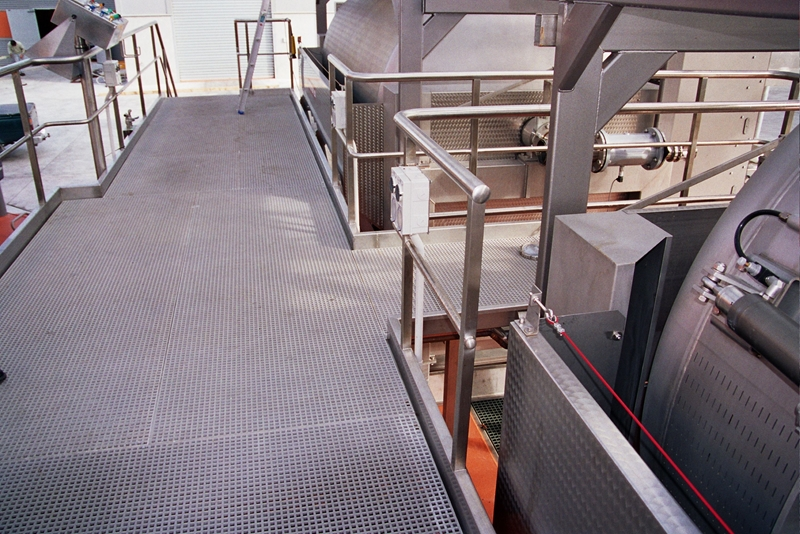 FRP grating is a safer solution in electrically hazardous environments.